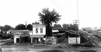 H.C. Smith Lumberyard Circa 1900