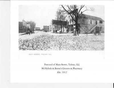 Main Street in 1912