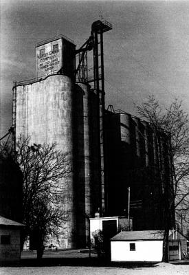 Tolono Grain Elevator in 1982