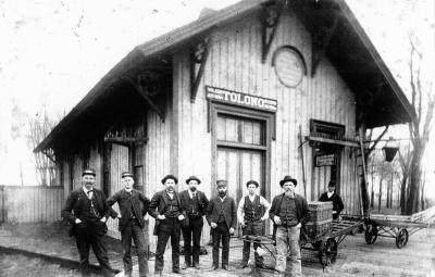 Tolono Passenger Train Depot